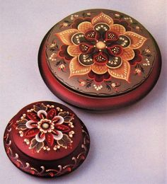 Traditional American Rogaland Rosemaling PaintPattern Book Gary Albrecht -Unused