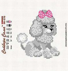 Gallery.ru / Фото #22 - пудели, схемы вышивок из интернета - poodel