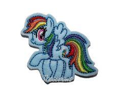 READY TO SHIP Pony Felt Clippie by ThoseBows on Etsy, $4.99