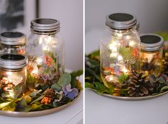 herbststimmung mason jar solarlampe pinterest herbstdeko b chsen und bunt. Black Bedroom Furniture Sets. Home Design Ideas