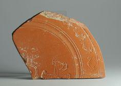 African red slip ware sherd Chi Rho 63