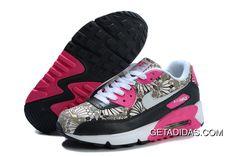 e5d59067e4a Nike Air Max 90 Gs Black Flower TopDeals