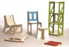 Gypsy Modular: Reconfigurable Furniture.