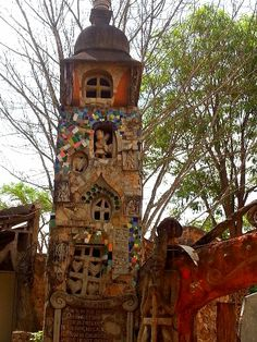 One of the structures at House of Fire Ezulwini Valley Swaziland