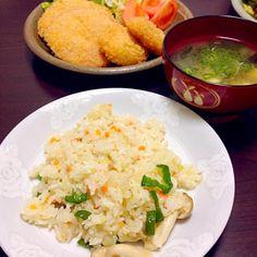 パパ作 ハムカツ&エビカツ - 24件のもぐもぐ - ミックスフライ定食 by yumiko