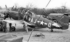 UK based P-51Ds 1944