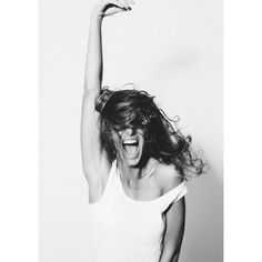 Modelfoto's op Poster / Forex - Woman Shout | Print your Instagrampictures on…