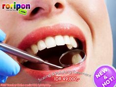 [ 86 % Crazy Discount ] Scaling + Polishing Free Voucher Ortho Worth Idr 2,000,000,- Only At www.roripon.com
