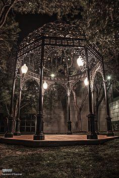Gazebo - another creepy addition to Kalis already creepy garden. - Gardening Seasons