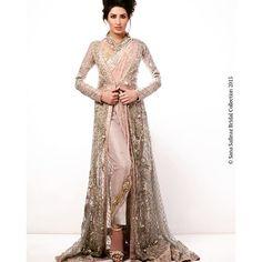 Instagram media sanasafinazofficial - December, definitely the busiest season for weddings in Pakistan! #MehwishHayat shines in #SanaSafinazBridals! #BridalTrends #BridalSeason #Bridals #BridalShoot #BridalFashion #SanaSafinaz