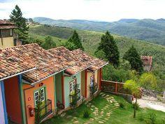Lavras Novas, Um Lugarejo Em Minas! Beautiful World, Beautiful Places, Places Around The World, Around The Worlds, Places To Travel, Places To Go, Dream House Plans, Hostel, Cabana