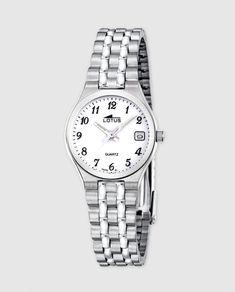 Reloj de mujer Lotus 15032/1 de acero plateado
