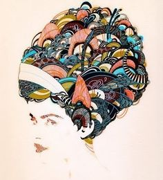 See? This is why I LOVE Pintrest...one of my top two favorite artists now! This is by Yellena James!