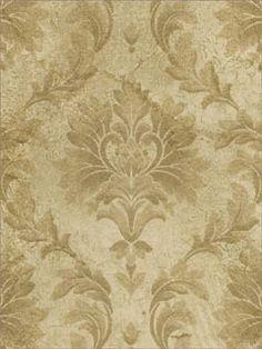 Damask Textured Effect Wallpaper  Brand:Fairwinds Studio  Book:Damask Fairwinds Studio  Item #:WTG-068135