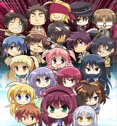 Angel beats chibi