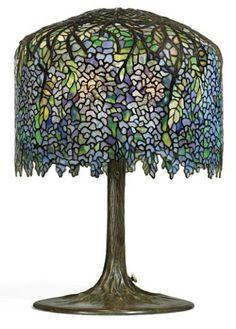 Wisteria  Louis Comfort Tiffany, 1905  Christie's
