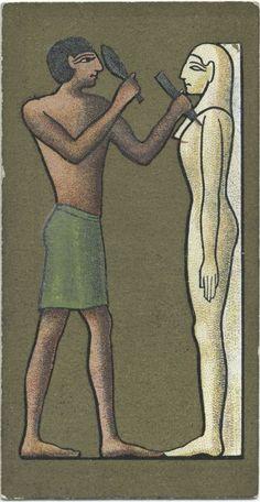 Cavanders Ltd. - Ancient Egypt. [The Egyptian sculptor]