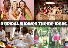 8 Bridal Shower Theme Ideas