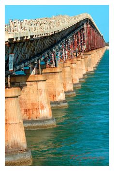 Old Bahia Honda Bridge, just past Marathon Key, Florida Keys