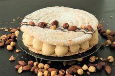 Succès au praliné ultra gourmand - Recette Olivia Pâtisse Dacquoise, Brownie Cookies, Easy Desserts, Parfait, Panna Cotta, Almond, Food And Drink, Treats, Cheese