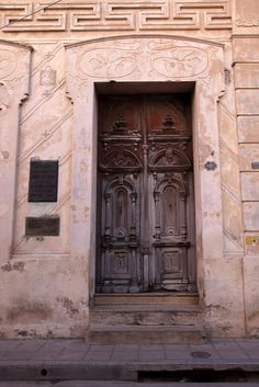 #Cuban door. Love the masonry!    Travel Cuba multicityworldtravel.com We cover the world over 220 countries, 26 languages and 120 currencies Hotel and Flight deals.guarantee the best price