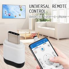Wireless Remote Receiver Infrared Emission Universal Household Appliances Control Micro USB/Type-c Interface for Android Phone Universal Remote Control, All Mobile Phones, Electronics Gadgets, Tech Gadgets, Natural Disasters, Fujifilm Instax Mini, Household, Usb, Free Shipping