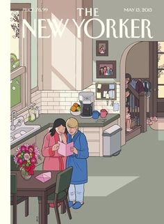 "The New Yorker - Monday, May 13, 2013 - Issue # 4497 - Vol. 89 - N° 13 - Cover ""Mothers' Day"" by Chris Ware"