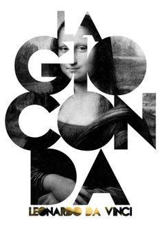 La Gioconda  Leonardo Da Vinci / Painting Art Poster by Sixteen9, €15.00