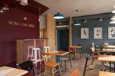 WKW Asian food cafe on Behance