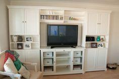 Ikea tv cabinet and storage