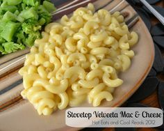 Stovetop Velveeta Macaroni and Cheese Recipe from Hot Eats and Cool Reads