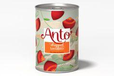 Anto - chopped tomatoes packaging