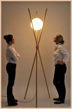 Confounded Architect Floor Lamp
