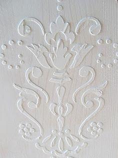 Venetian Plaster wall art.  Cheap and easy -- yep, I can handle that.
