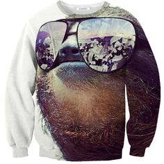 Money On My Mind Sloth Sweater