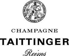 Champagne Taittinger Logo, France