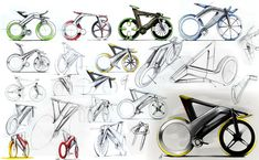 MOOBY bike sketches by Madella Simone