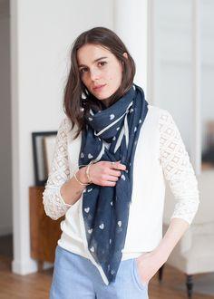 Sézane / Morgane Sézalory - Lifestyle - Amour Scarf - #sezane #giftshop www.sezane.com
