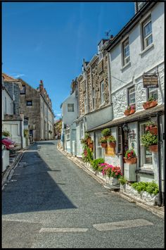 St. Ives, Cornwall. Downlong Cottage B & B, across the road from Grace's Cottage :)