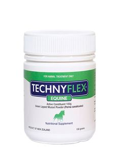 Technyflex® Equine Premium Joint Supplement™ 100g Tub – New Zealand's Best Prevent Arthritis, Arthritis Symptoms, Horse Manure, Green Lipped Mussel, Allergies, Nutrition, Horses, Pure Products, Tub