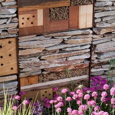 'insect hotel' at chelsea flower show 2011