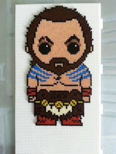 Khal Drogo - Game of Thrones Hama mini beads by Jose Balboa