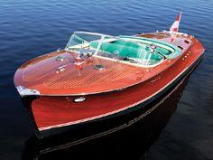 Riva Tritone Via, two-engine-yacht, 1958