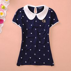 """Material: cotton Color: navy blue,white S: Bust 80cm/31.49"""",Shoulder 32cm/12.59"""",Length 60cm/23.62"""" M: Bust 84cm/33.07"""",Shoulder 33cm/12.99"""",Length 61cm/24.01"""" L: Bust 88cm/34.64"""",Shoulder 34cm/13.38"""",Length 62cm/24.40"""" XL: Bust 92cm/36.22"""",Shoulder 35cm/13.78"""",Length 63cm/24.80""""  Tips: *..."""