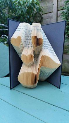 Music Lover Book Folding Pattern 196f, Plus free beginners tutorial by Cornerhouse115 on Etsy
