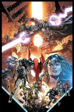 Justice League - Jason Fabok arts