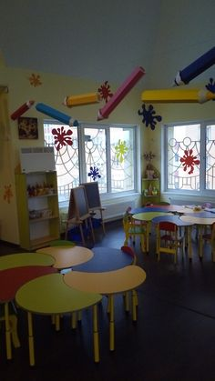 Sunday school room decor classroom school amazing home decoration ideas иде Daycare Design, School Design, Preschool Classroom, Classroom Decor, Kindergarten Interior, Sunday School Rooms, Church Nursery, School Decorations, Home Goods