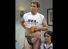 Saturday Night Live Photo: Will ferrell patriotic Will Ferrell, Saturday Night Live, Best Of Snl, Just For Laughs, Just For You, Snl Skits, Funny Memes, Hilarious, Funny Quotes