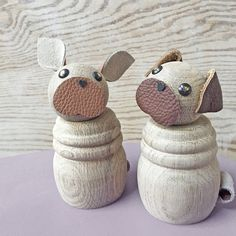 Wooden Pets – Puggie and Frenchie fromHELENA
