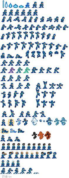 Mega Man spritesheet